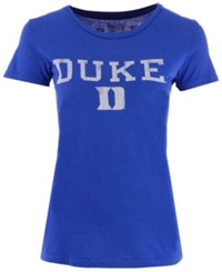Retro Brand Women's Duke Blue Devils Vintage Heather T Shirt Royalblue