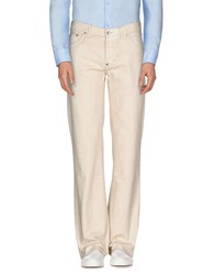 Boss Orange Trousers Casual Trousers Men Beige