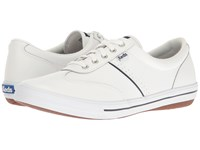 Keds Craze Ii Leather White Women's Lace Up Casual Shoes