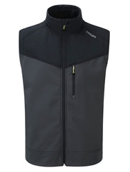 Tog 24 Casual Showerproof Reactor Full Zip Gilet Grey