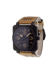 Bell And Ross 'Br 03 92 Ceramic Heritage' Analog Watch
