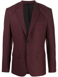 J. Lindeberg J.Lindeberg Hopper Single Breasted Jacket Red