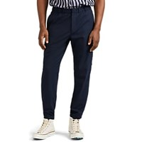 Theory Wool Blend Cargo Pants Navy