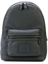 Coach Academy Backpack Grey