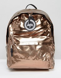 Hype Bronze Backpack Tri Bronze Gold