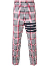 Thom Browne 4 Bar Prince Of Wales Trouser 60