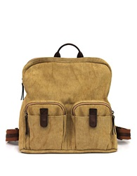 Lucky Brand Ashmore Canvas Backpack Sand
