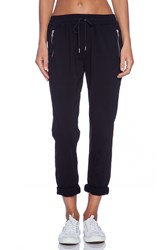 Joe's Jeans Off Duty Street Zip Slim Jogger Black