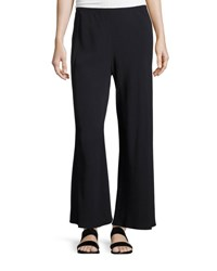 The Row Dala Wide Leg Pull On Pants Navy