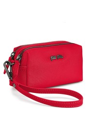 Folli Follie Saffiano Travel Case Red