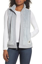 The North Face Furry Fleece Vest High Rise Grey