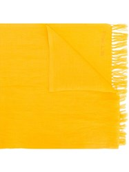 Etro 'Sciarpa Frangia Annodata' Scarf Yellow And Orange