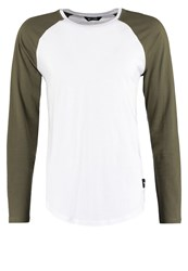 Only And Sons Onsmatt Long Sleeved Top White Olive