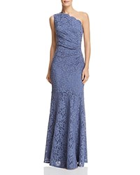 Decode 1.8 One Shoulder Lace Gown Periwinkle