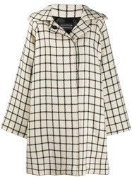 Gianluca Capannolo Check Pattern Oversized Coat 60