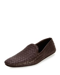Woven Leather Slipper Bottega Veneta Black