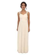Alejandra Sky Florenzia Gown Cream Women's Dress Beige