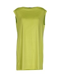 Marzia Genesi Sea Dresses Short Dresses Women Acid Green