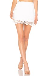 Bailey 44 Sesame Skirt White