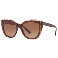 Tiffany And Co. Co Tf4148 'S Cat's Eye Sunglasses Tortoise Brown Gradient