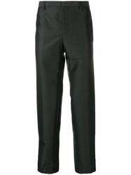 Lanvin Straight Leg Trousers Grey