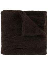 Margaret Howell Ribbed Knit Scarf 60
