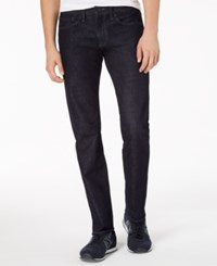Armani Exchange Ax Straight Fit Stretch Jeans Dark Blue