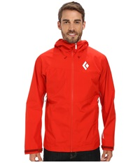 Black Diamond Liquid Point Shell Torch Men's Jacket White