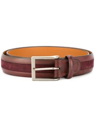 Magnanni Classic Buckle Belt Brown