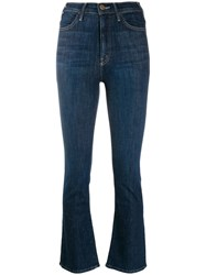 Mother Classic Skinny Jeans Blue