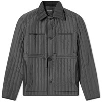Craig Green Quilted Worker Jacket Grey