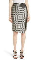 Ted Baker Women's London Pensa Mix Print Pencil Skirt