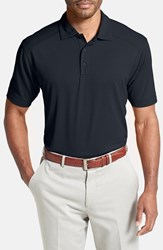 Cutter And Buck Men's 'Genre' Drytec Moisture Wicking Polo Navy Blue