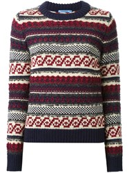 Guild Prime Chunky Knit Sweater Red