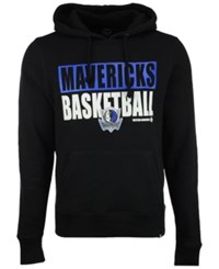 47 Brand '47 Men's Dallas Mavericks Knockaround Headline Pullover Hoodie Black