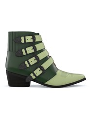 Toga Pulla Customisable Aj006 Boots Green