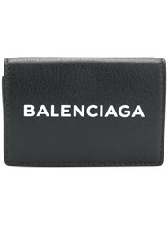 Balenciaga Bal Everyday Wallet Black