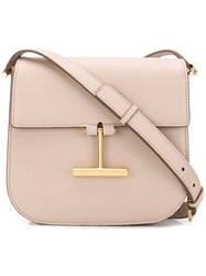Tom Ford T Plaque Crossbody Bag Pink