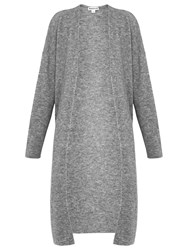 Whistles All Needle Knit Cardigan Grey