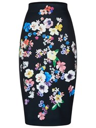Damsel In A Dress Aromatic Skirt Black Multi