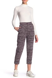 Free People The Cozy Knit Trouser Lt Red