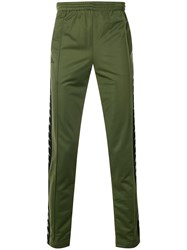Kappa Branded Track Trousers Green