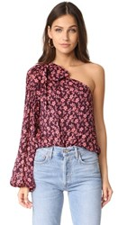 Ulla Johnson Enid Blouse Burgundy