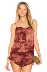 Blue Life Mohave Button Front Cami Brick