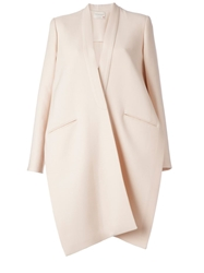 Maison Rabih Kayrouz Side Slits Oversized Coat White