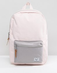 Herschel Supply Co. Settlement Mid Volume Backpack In Pale Pink 01355 Cloud Pink