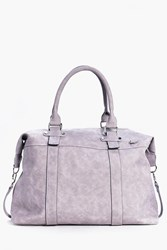 Boohoo Pu Weekend Holdall Grey