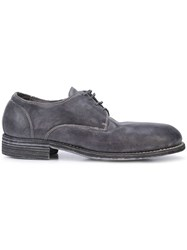 Guidi Derby Shoes Blue