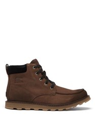 Sorel Madson Leather Lace Up Boots Brown