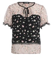 Fashion Union Unity Rose Blouse Rose